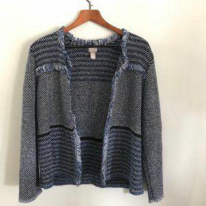 Blue Chico's sweater - Size L